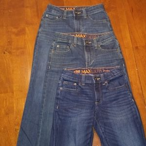 3 pairs of Excellent condition boys jeans